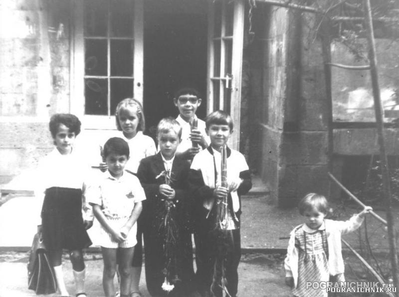 Детство в КЗакПО. Октемберянский ПОГО. 1.09.1990