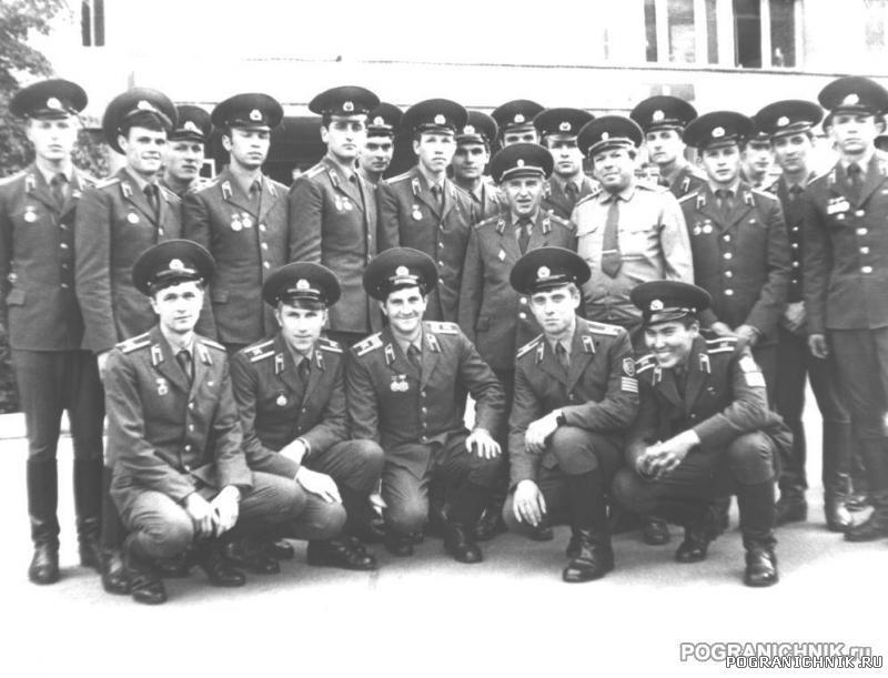 ноябрь 1981. 4 батальон, 1 взвод, 11 рота (4 д-н, 44 группа)