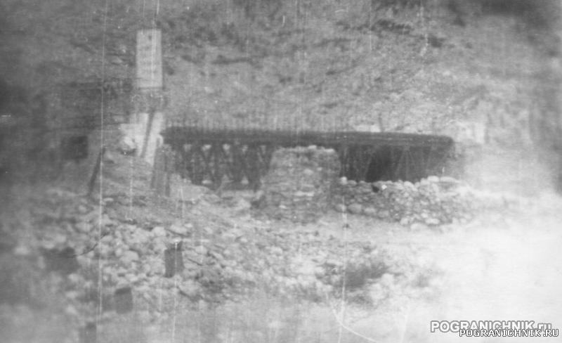 Лянгар мост осень 89г
