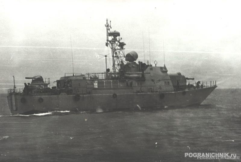 Антарес во время замеров ГКС-26, Феодосия, 1982