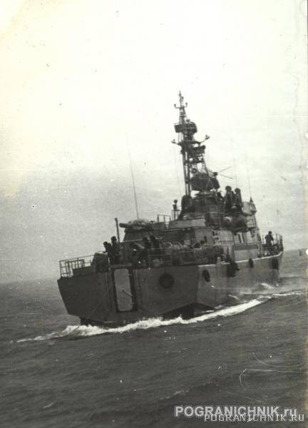 Антарес во время замеров ГКС-26,Феодосия, 1982(2)