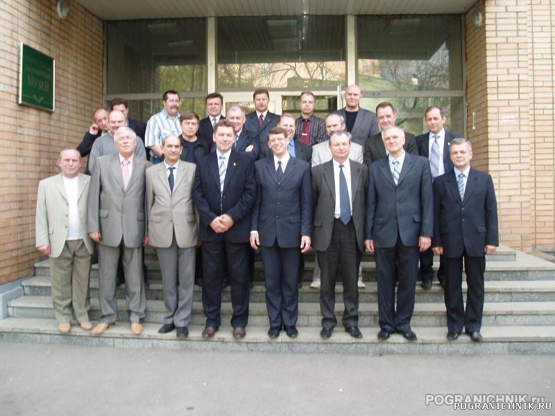 Встреча ветеранов Алакурттинского отряда. Москва. Музей погр