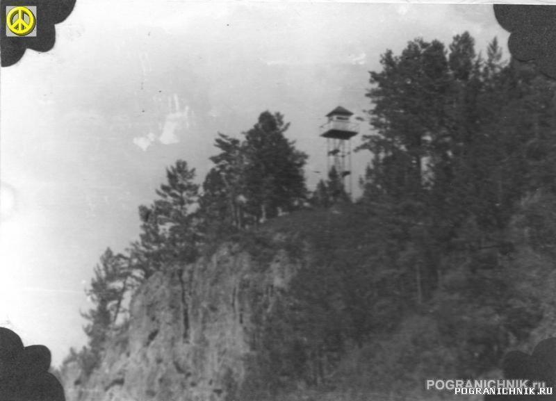 Пост наблюдения на вышке Увальная (Бейтоново-82)