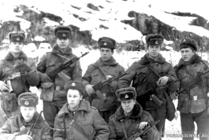 Погранзастава Тюва Губа Мурманская обл. 1984 год