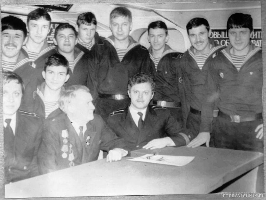 Кап3 Захарчук А (706),встреча с ветеранами на 9мая