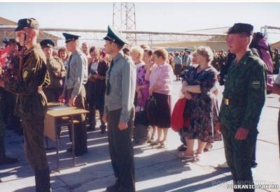 Пыталово в/ч 2335 1995г присяга