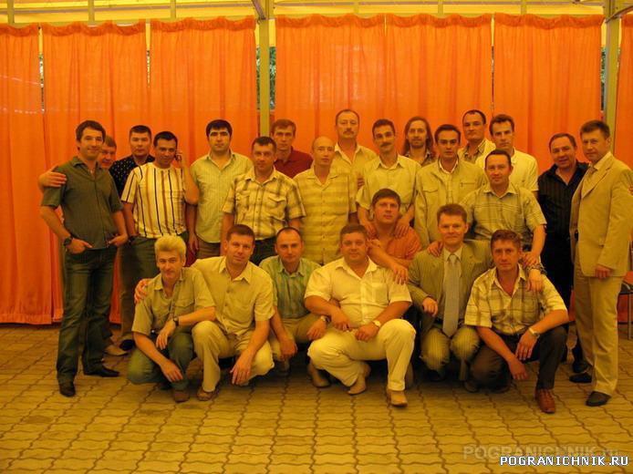 Участники втречи в Москве 30.06.07 выпуск 1990