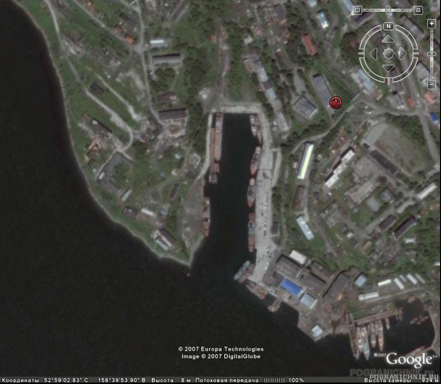 База в Петропавловске GOOGLE