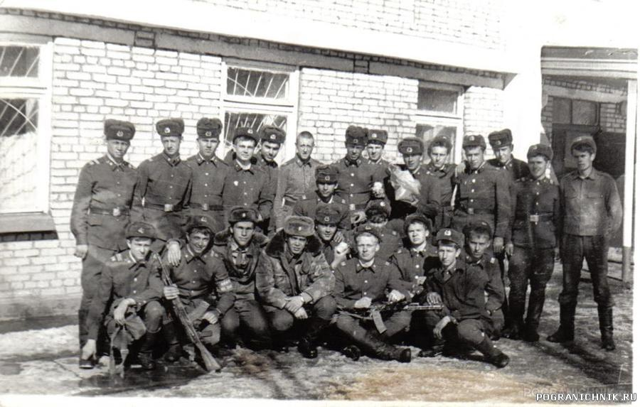 Ошский ПОГО, Кызыл-Джар 1985г.