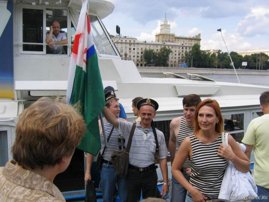 День ВМФ. Москва. Речная прогулка.