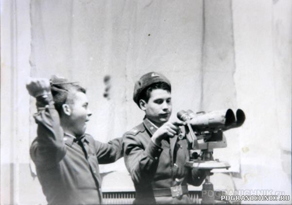 1985-1986 годах в Посьетстком погранотряде