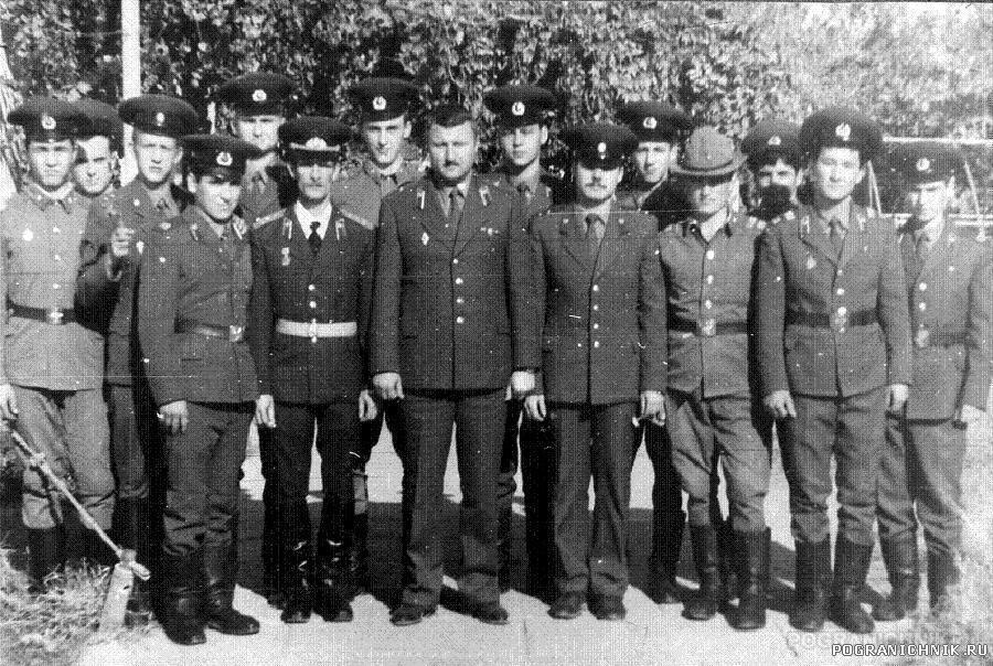 КСАПО пгт Серахс 1987г. оперативный пункт(взводсвязи)