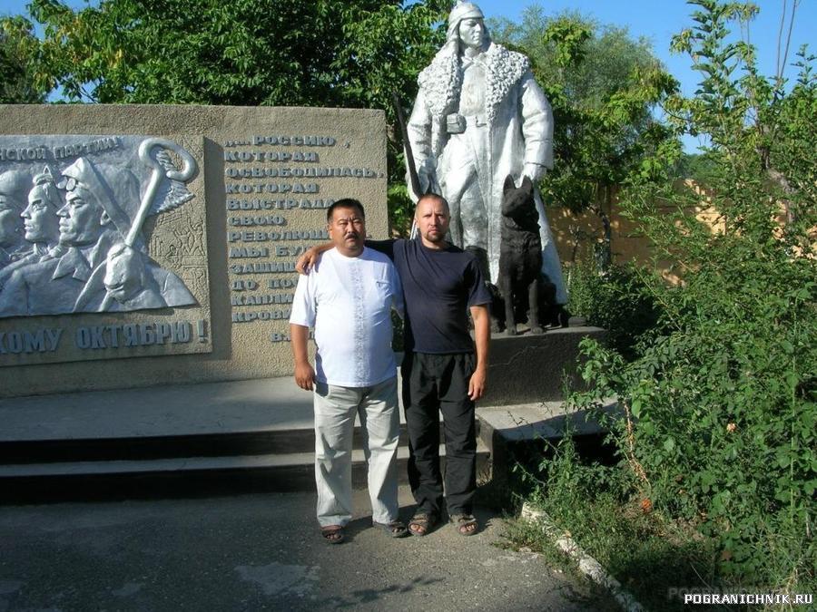 в Ошском отряде в августе 2007