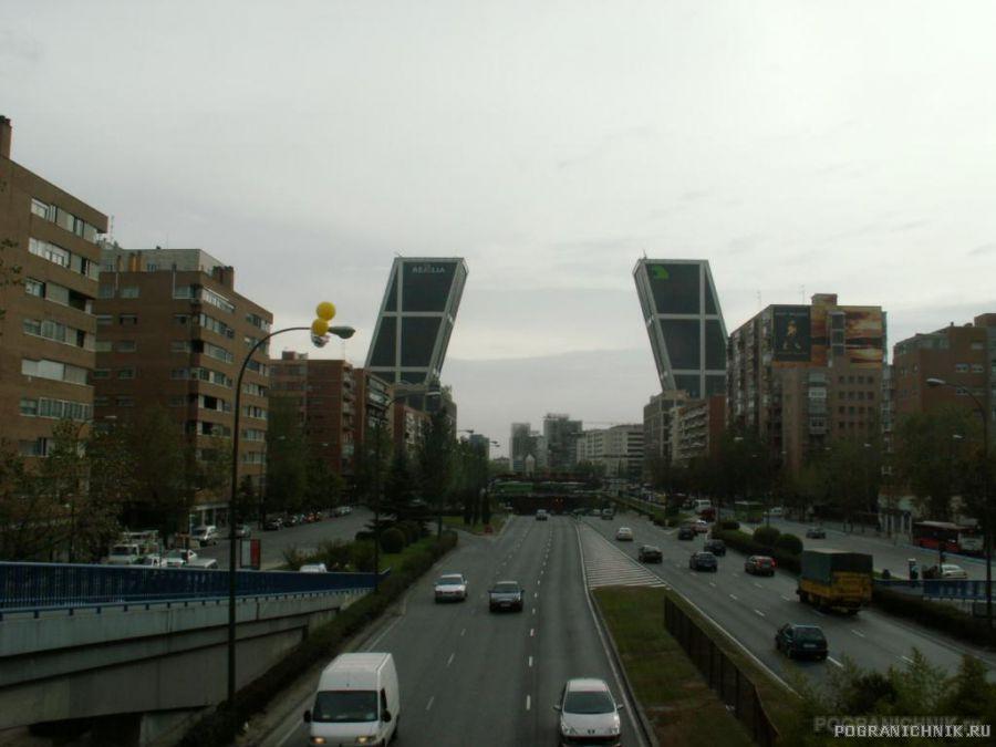 Мадрид. Плаза де Кастилия