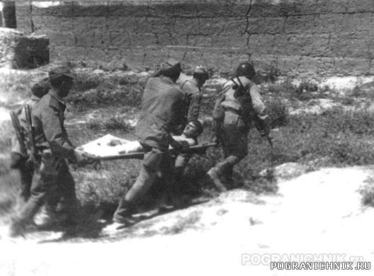 Кайсар. 14.06.1988. Вывоз раненых