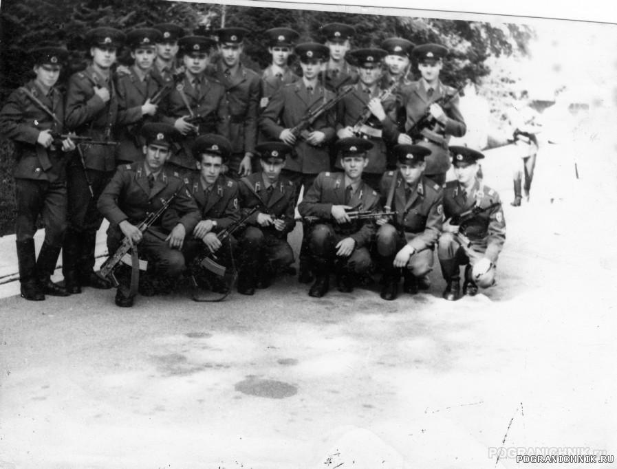 Алма-Ата,ШСС,2 рота,5вз.лето 1988