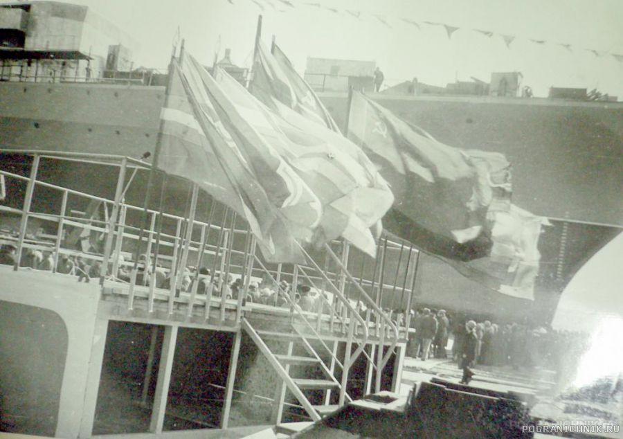 """На стапелях КПСКР """"Дзержинский"""" 1984 год"""