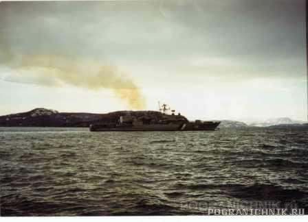 Выход Дзержинского на границу