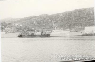 1 ОБСКР - Кувшинская Салма. Корабли пр. 1124П.