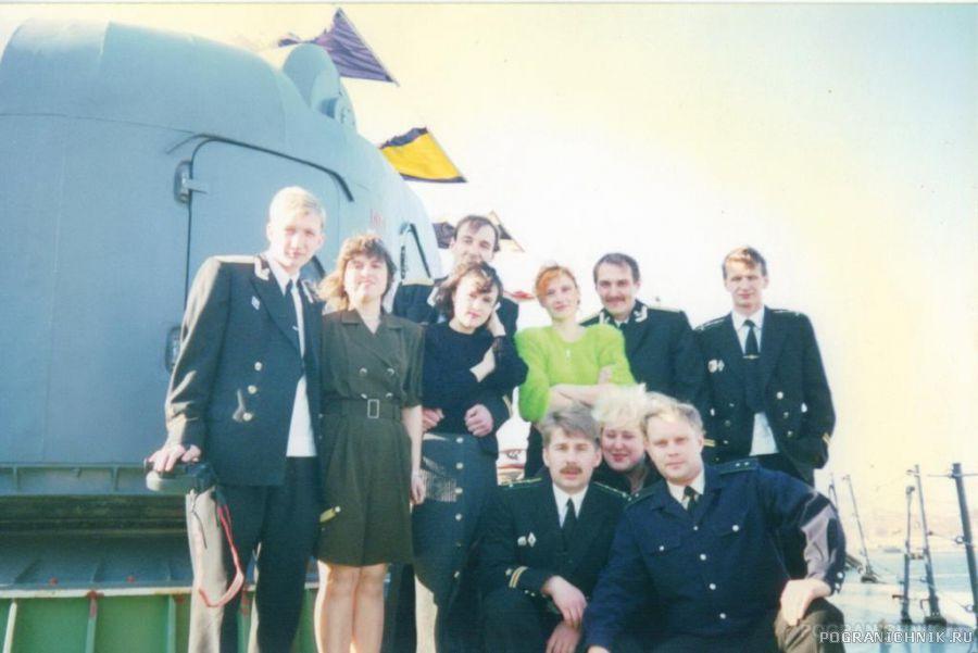 День корабля на ПСКР-801,1998 год