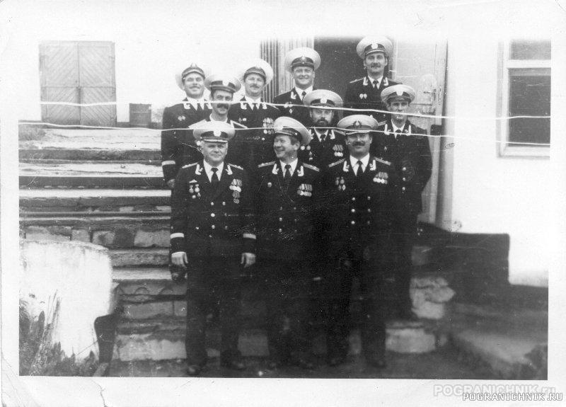 Командиры Кораблей 2й БСКР 1й КДиПСКР