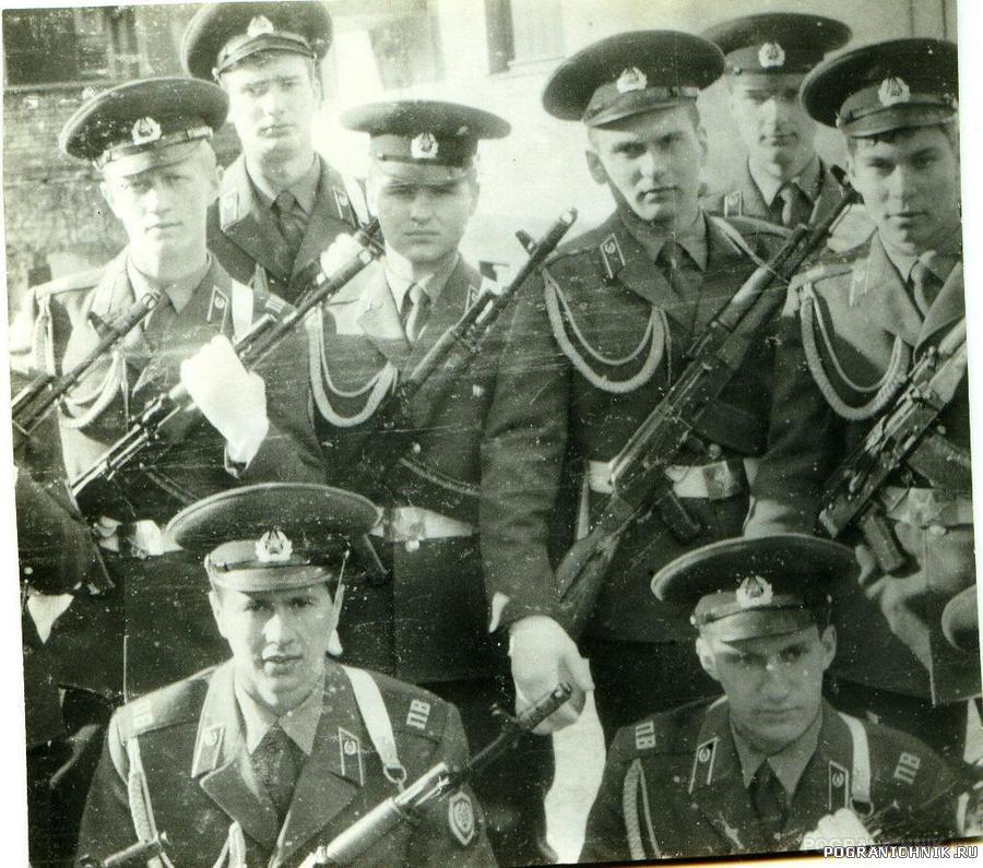2 УПЗ МОШСС Палдиски, 9 мая 1988 г.