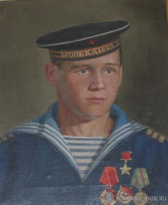 Герой Советского Союза В.Г. Ус