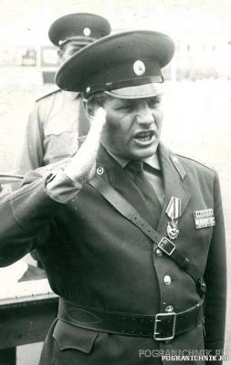 НШ 57 по полковник В.Дурицкий награжден орденом Боевого Крас