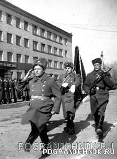 Вручение переходящего Красного Знамени ПВ СССР 57 по 1971г.