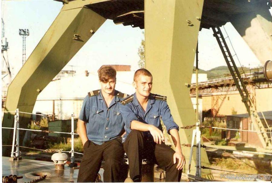 КО мотористов и К-5 ПСКР-809.1994 год