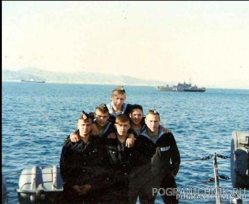 """БЧ-5 ПСКР """"Кречет"""".залив Петра Великого,1998 год"""