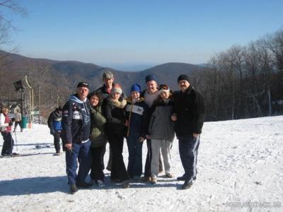 Встреча Нового Года в Вирджинии