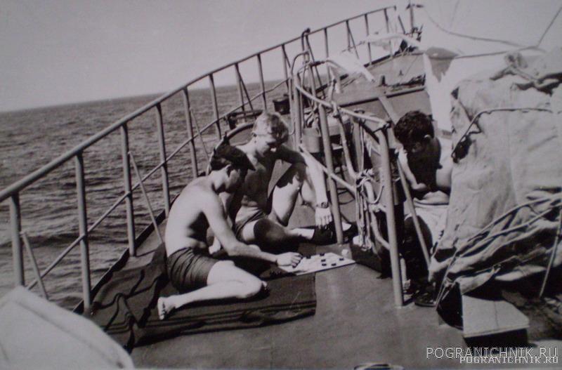 День ВМФ в море