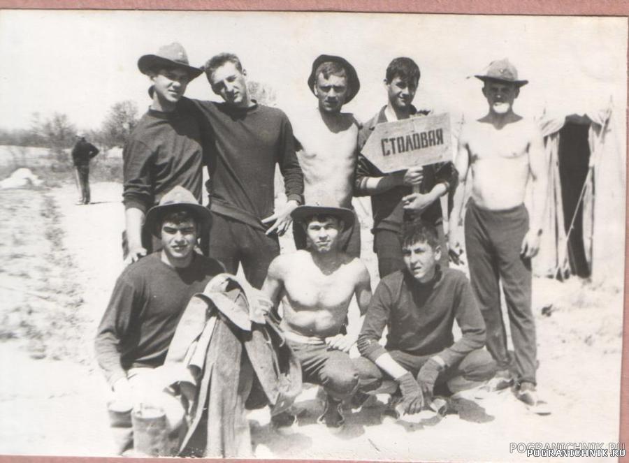 Готовим лагерь на Капчагае