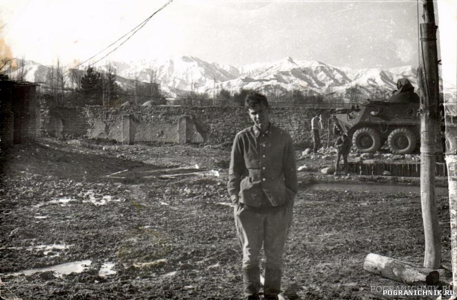Кайсарские пейзажи. Зима 1983.