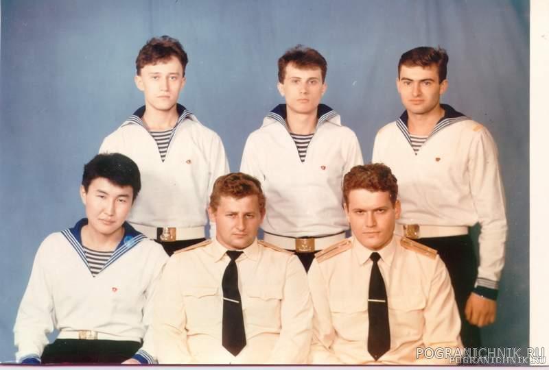 Вся сводная команда XXV 1988 г