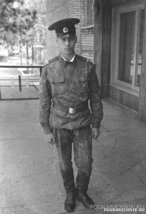 КТПО Дальнереченский ПО 9 мая 88-го - Саня Регутский возле к