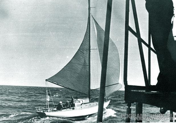 Польские яхтсмены