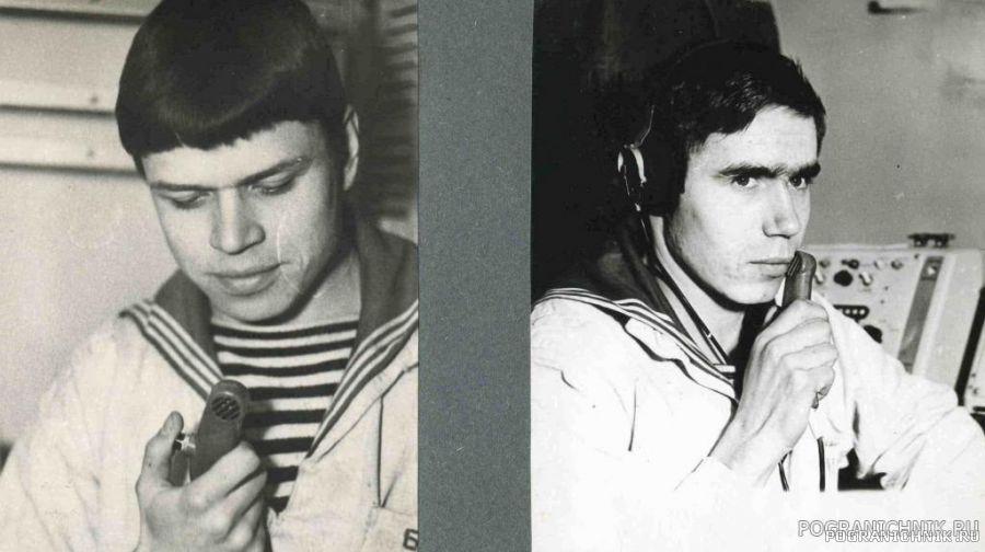 17ОБСКР.1976.Связисты Шкляренко В. и Коршунов на связи с кор