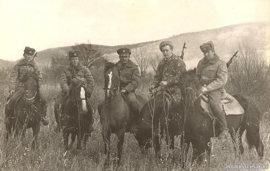 """""""Широкая"""", осень 1986, конное отделение"""
