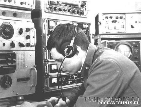 В/ч 2209. Главная радиостанция 1977 год.