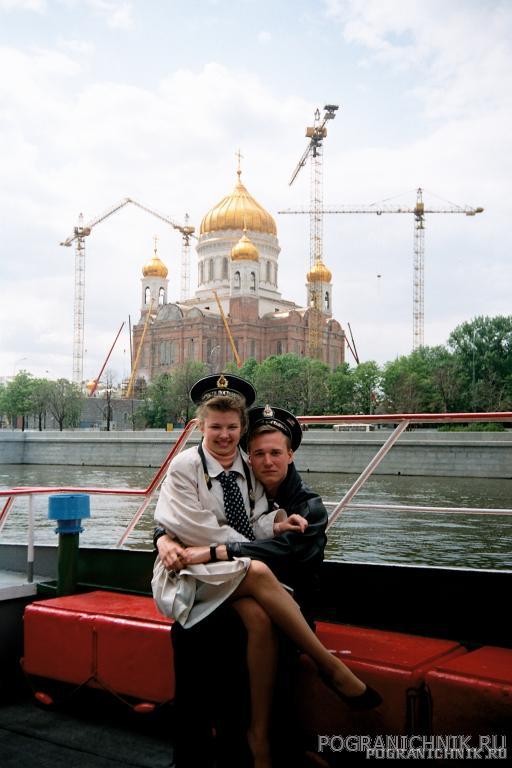 1998г. День пограничника, Москва