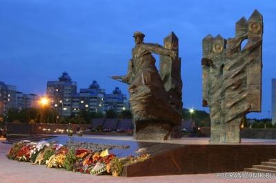 Мемориал воинам-пограничникам в Гродно
