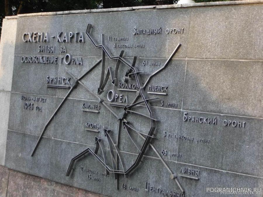 Освобождение города Орла.