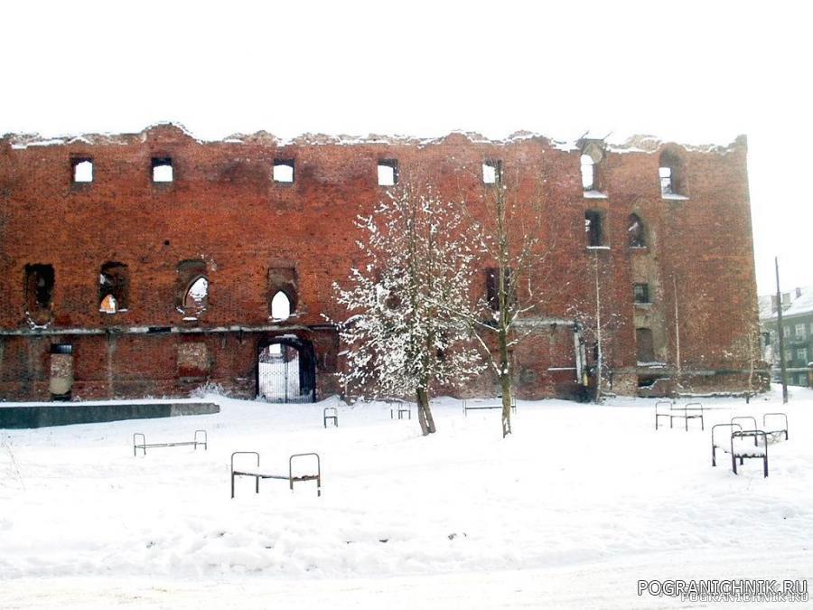 г. Рагнит, Восточная Пруссия, разрушенный замок..jpg