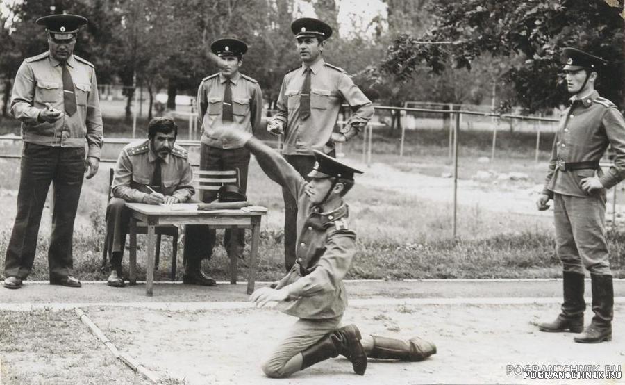 Июнь 1985 г. Госэкзамен по физо, полоса препятствий.