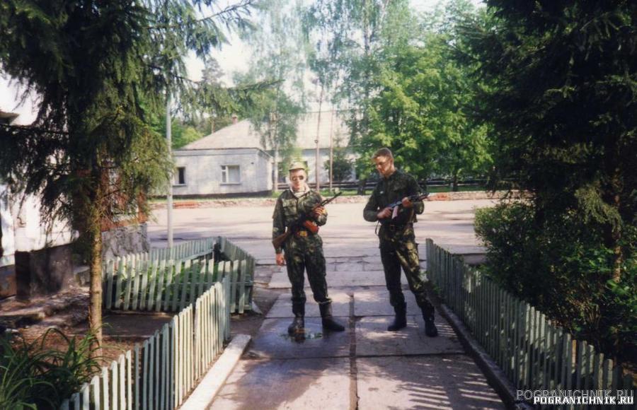 Лесное у плаца( слева Димка Борцов с Нижнего)
