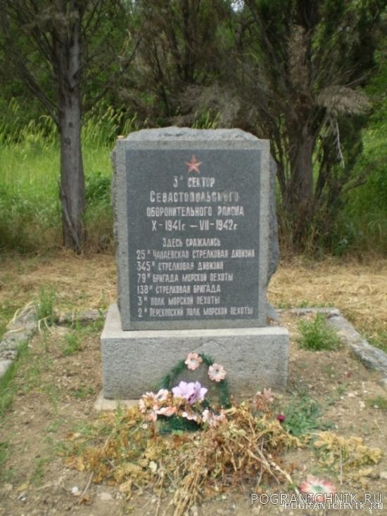 Защитникам Севастополя- Слава