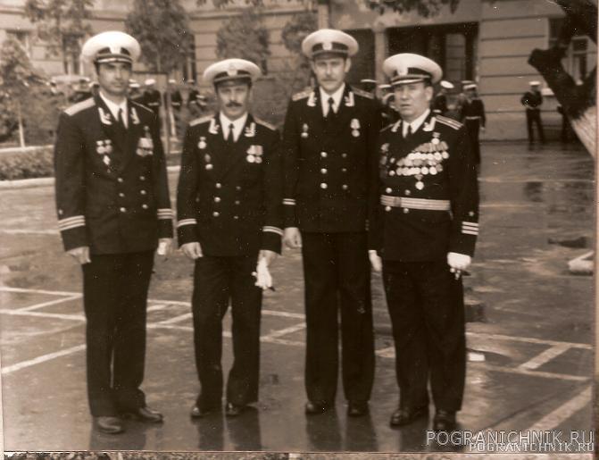 Отцы командиры 3 роты. 1981 год