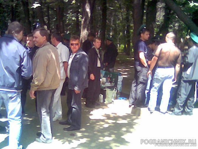 28мая 2008г встречи пограничников всех поколений на алеях па